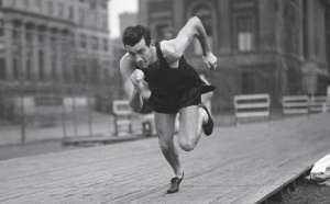 Louie Zamperini set the national high school mile record, which lasted for 19 years. He set the NCAA mile record which lasted for 20 years. As a teenager, he placed 8th in the 5,000-meter run at the 1936 Olympics.