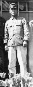 "Mutsuhiro Watanabe, aka ""The Bird,"" the Japanese prison guard who most abused Louie and who Louie sought to forgive. Photo from National Archives."